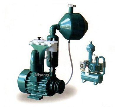 150 lik 8 Sağma 380 Volt Süt Sağma Sistemi Pompası
