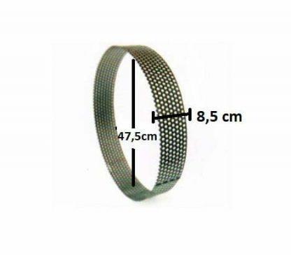 2 mm Ayaklı Arpa Kırma Makinası Eleği