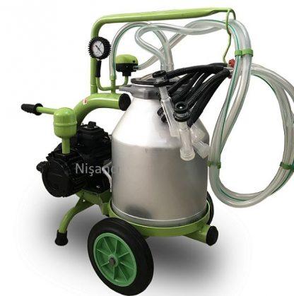 2 Sağım Alüminyum Keçi Sağma Makinesi