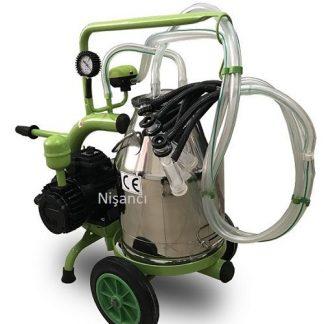 2 Sağma Krom Keçi Sağma Makinesi