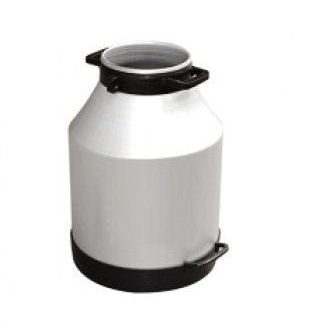 30 Litre Geniş Ağız Alüminyum Süt Güğümü