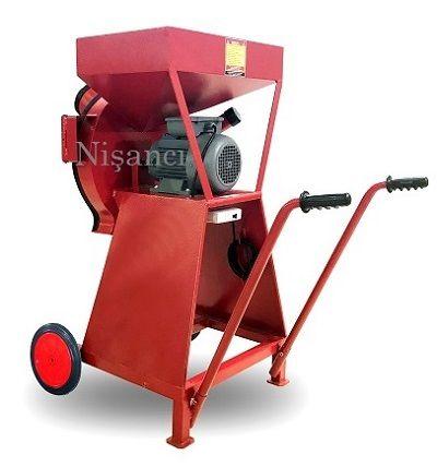 380 Volt 4 Beygir Arabalı Yem Kırma Makinesi