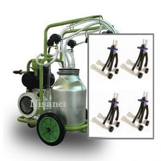 4 Keçi Sağım Kapasiteli Alüminyum Keçi Sağım Makinesi