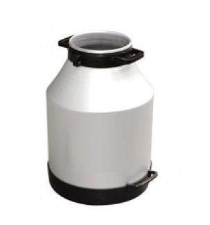 40 Litre Geniş Ağız Alüminyum Süt Güğümü