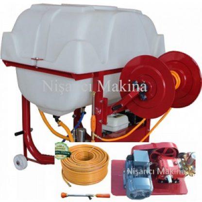 400 Litre Elektrikli Hortum Sarıcılı İlaçlama Pompası