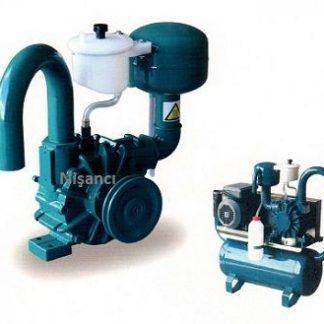 70 Lik 220 Volt 4 Sağma Süt Çekme Sistemi Pompası