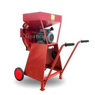Arabalı 220 Volt Arpa Kırma Makinesi