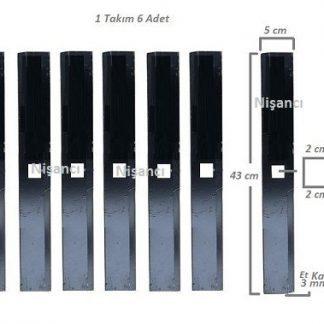 Ayaklı Arpa Kırma Makinası Bıçağı Takım 6 Adet