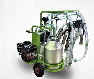 Benzinli Elektrikli Alüminyum İnek Sağma