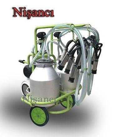 4 Keçi Sağım Çift Güğüm Keçi Sağım Makinesi