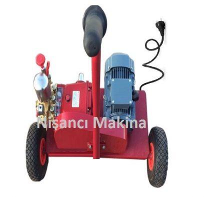 Portatif Elektrikli Motorlu Tanksız Bahçe İlaçlama Makinesi