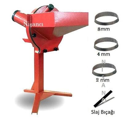 Sabit Ayaklı 220 Volt Arpa Kırma Makinesi
