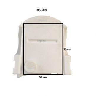 İlaçlama Makinesi Deposu Tankı 200 Litre